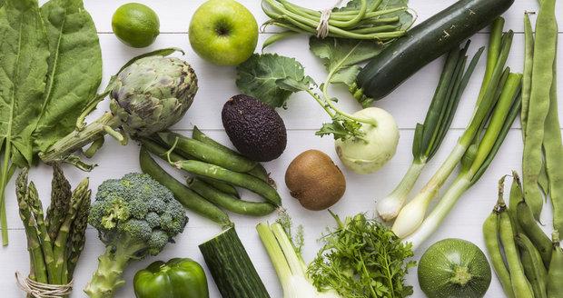 zelena zeleninová dieta